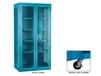 EXTRA HEAVY-DUTY STORAGE CABINET - SEE-THRU
