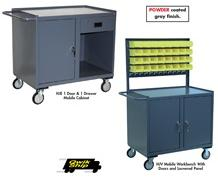 MOBILE CABINETS WITH DOORS